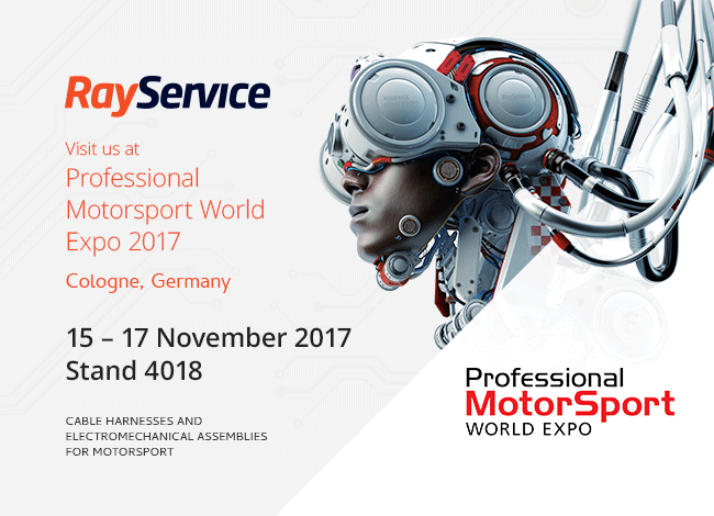 Ray Service exhibits at Professional MotorSport World Expo (Germany) daf863049e