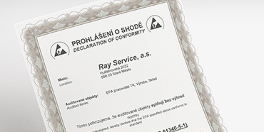 certifikace a ocen n ray service a s. Black Bedroom Furniture Sets. Home Design Ideas